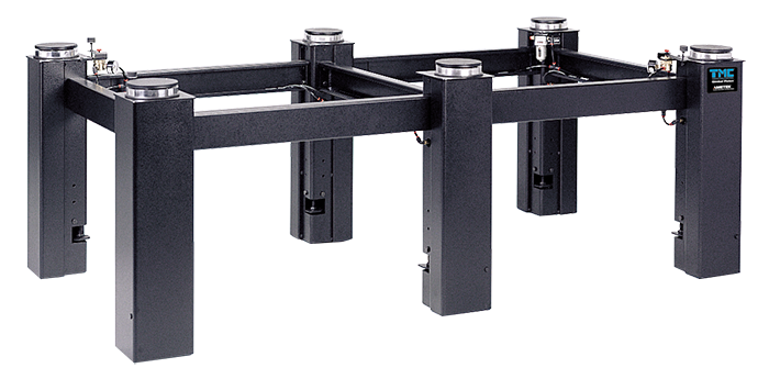 System1 optical table pneumatic vibration isolation support system