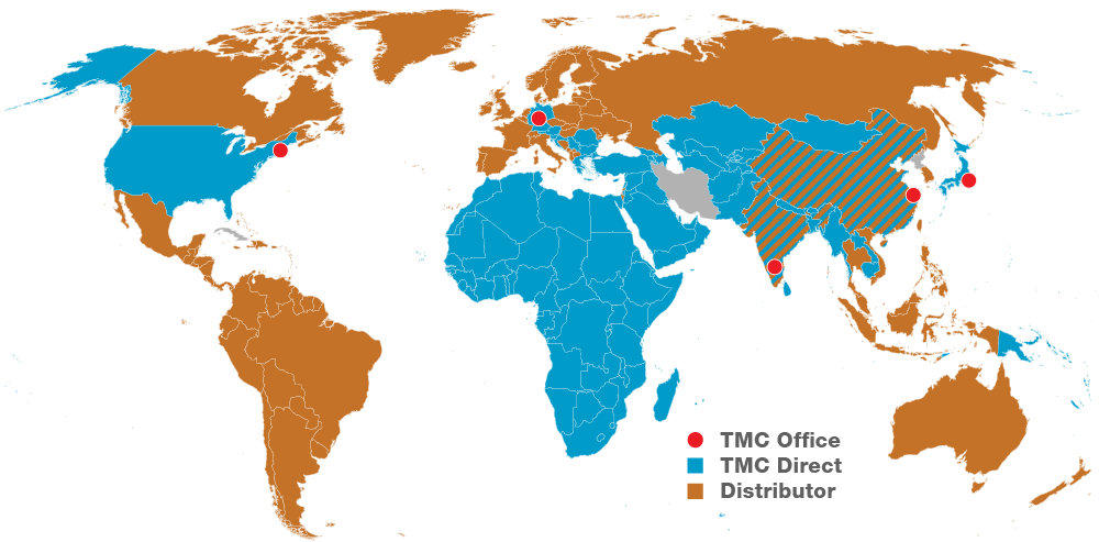 TMC global map
