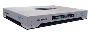 SEM-Base VI piezoelectric vibration cancellation platform for SEMs